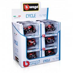 CYCLE MOTOR BURAGO 1:18