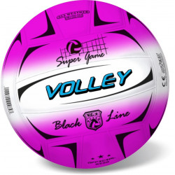 BALL VOLLEY FLUO BLACK 21CM